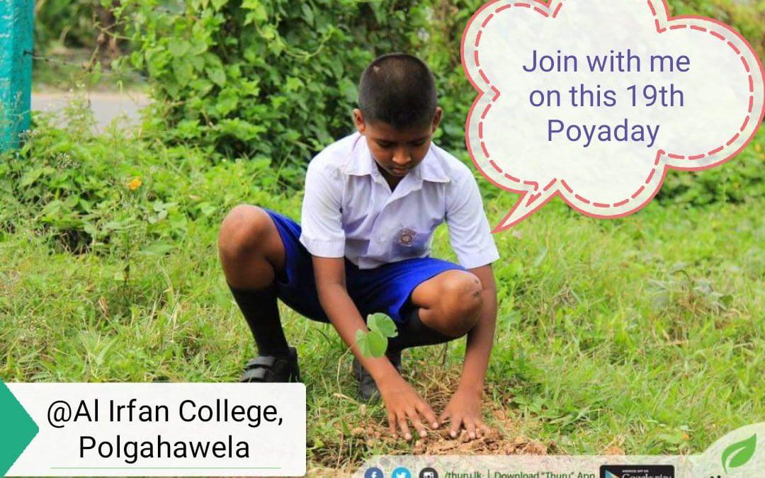 Polgahawela Tree Planting